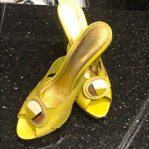 Vince V Camuto light green shoes